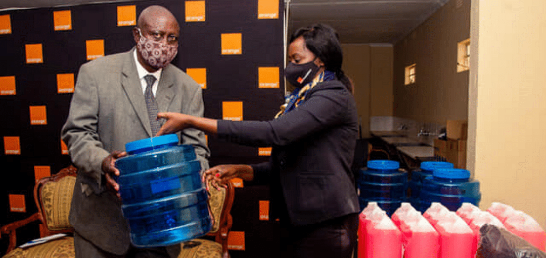 Orange Botswana Donates PPE in Continued Fight Against COVID-19
