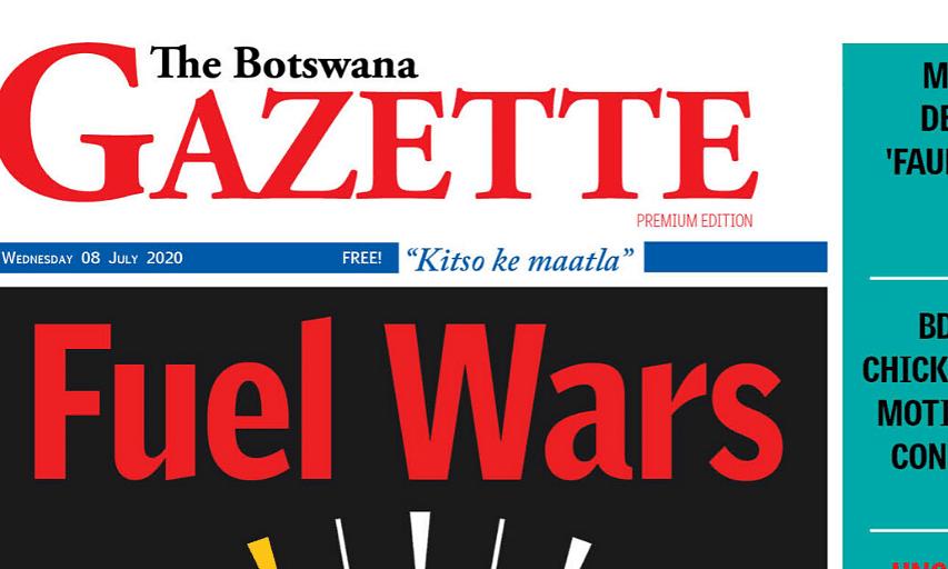 The Botswana Gazette 8 July 2020