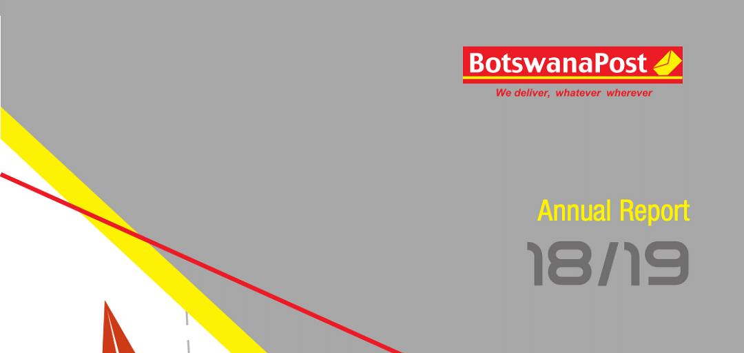 BotswanaPost Annual Report 2019