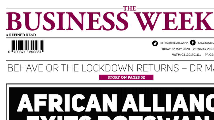 The Business Weekly & Review 22 May 2020