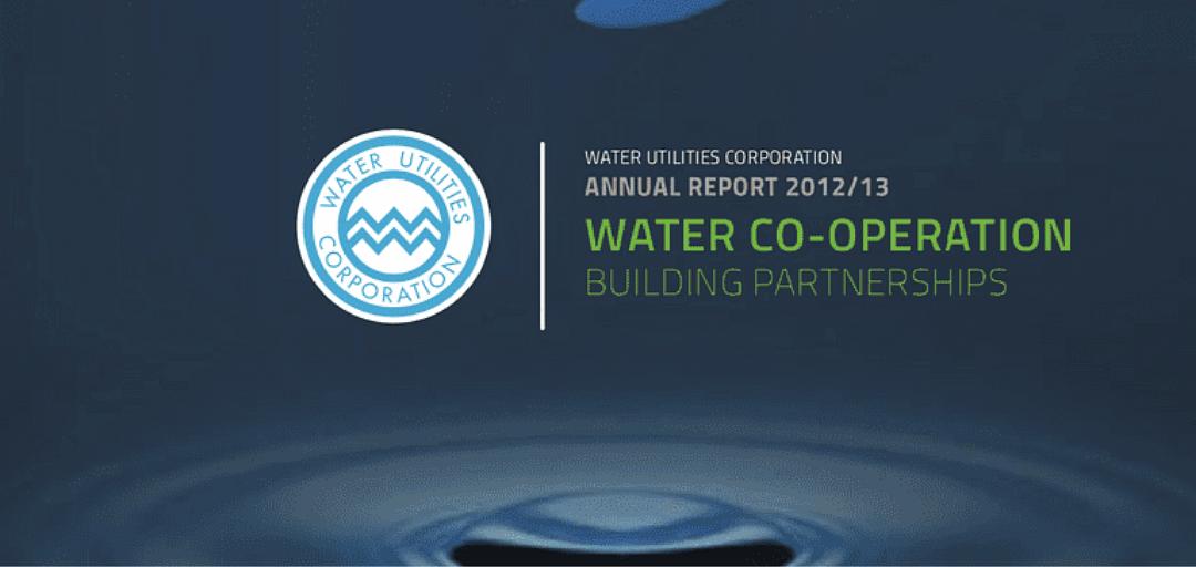 Water Utilities Annual Report 2013