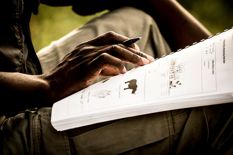 Rhino conservation data collection