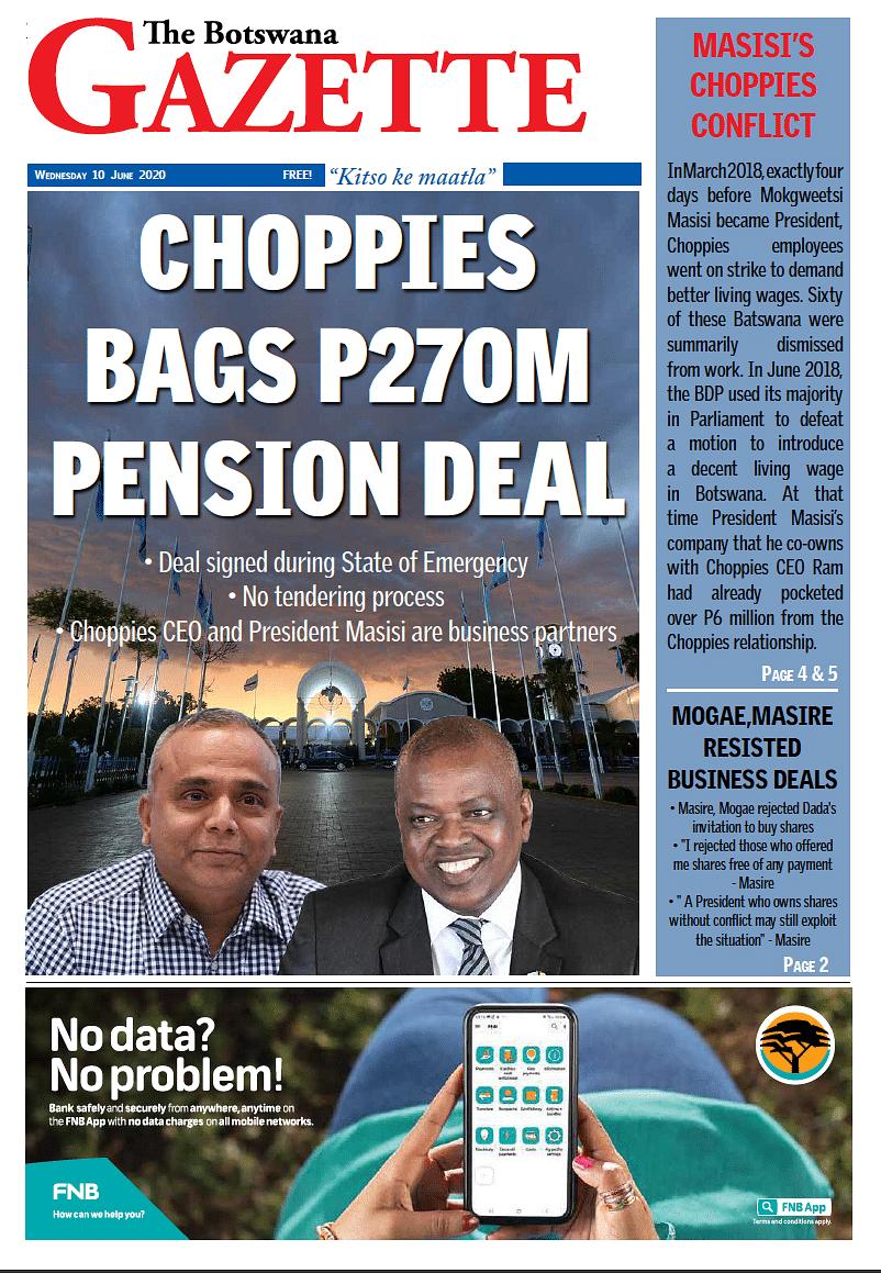 The Botswana Gazette 10 June 2020