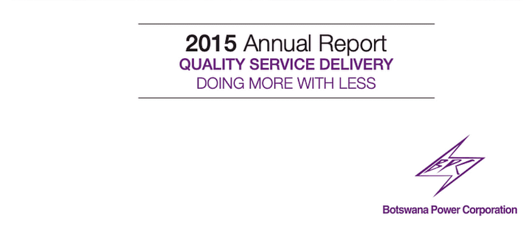 BPC Annual Report 2015