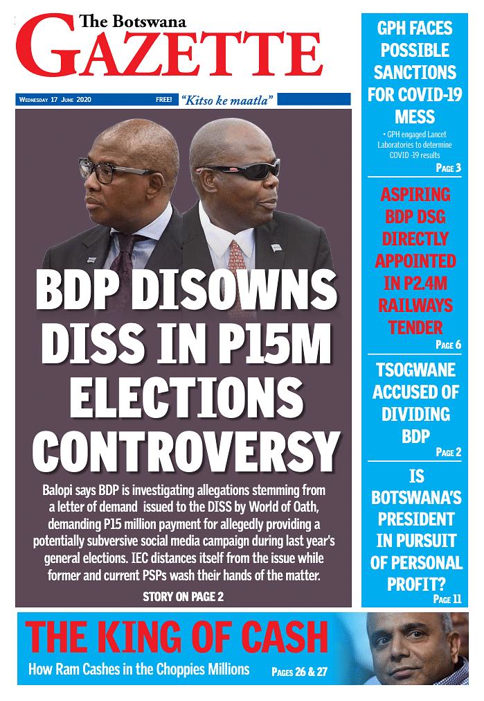 The Botswana Gazette 17 June 2020