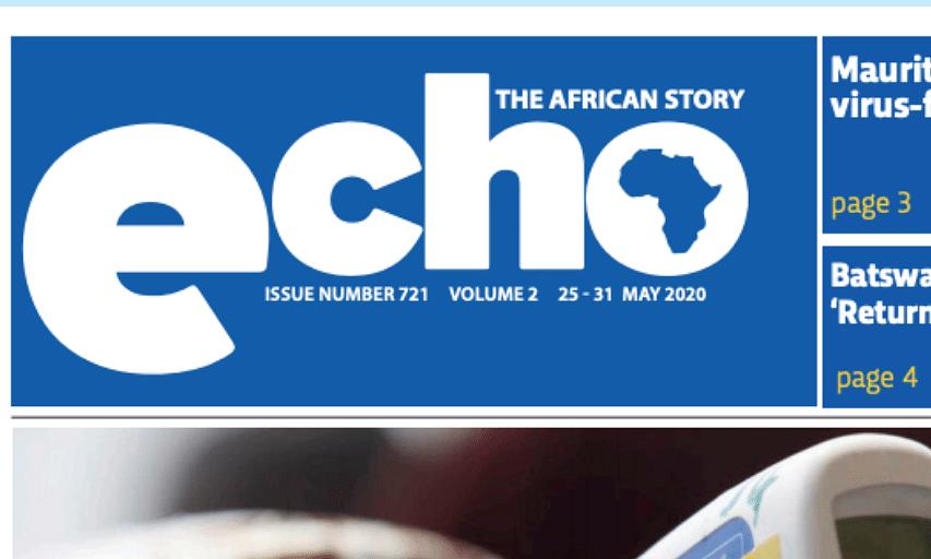 Echo 25 May 2020