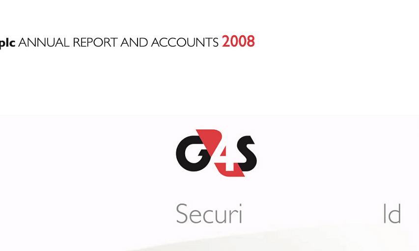 G4S Annual Report 2008