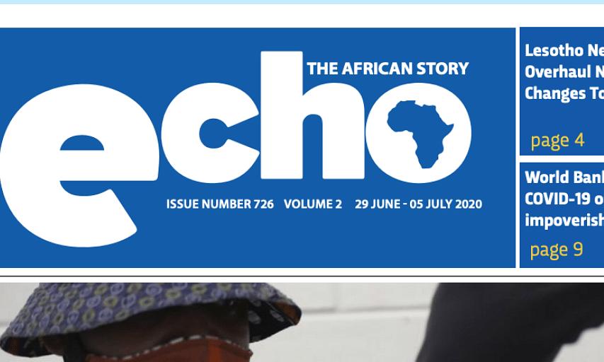 Echo 29 June 2020