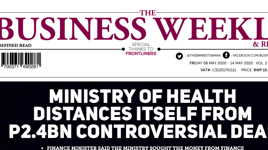 The Business Weekly & Review 8 May 2020