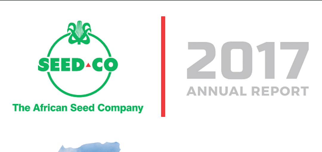 Seed Co International Annual Report 2017