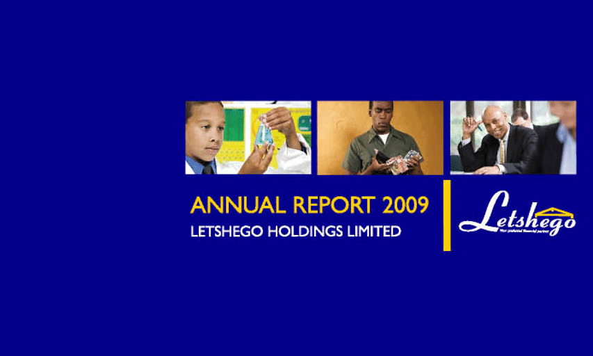 Letshego Group Annual Report 2009