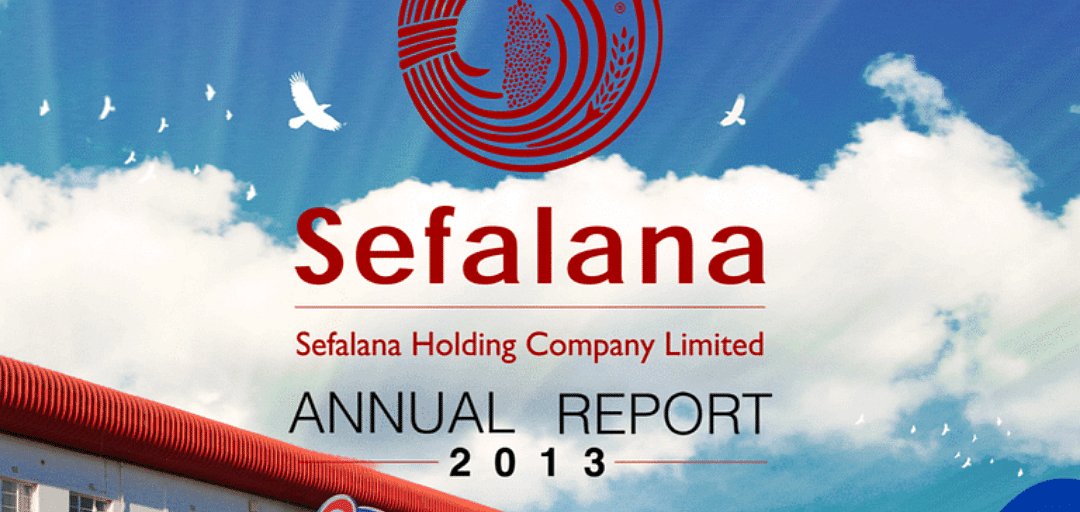 Sefalana Annual Report 2013