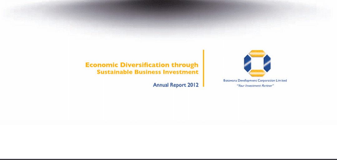 BDC Annual Report 2012
