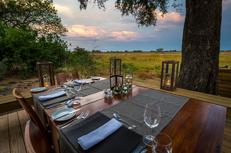 Dining and view