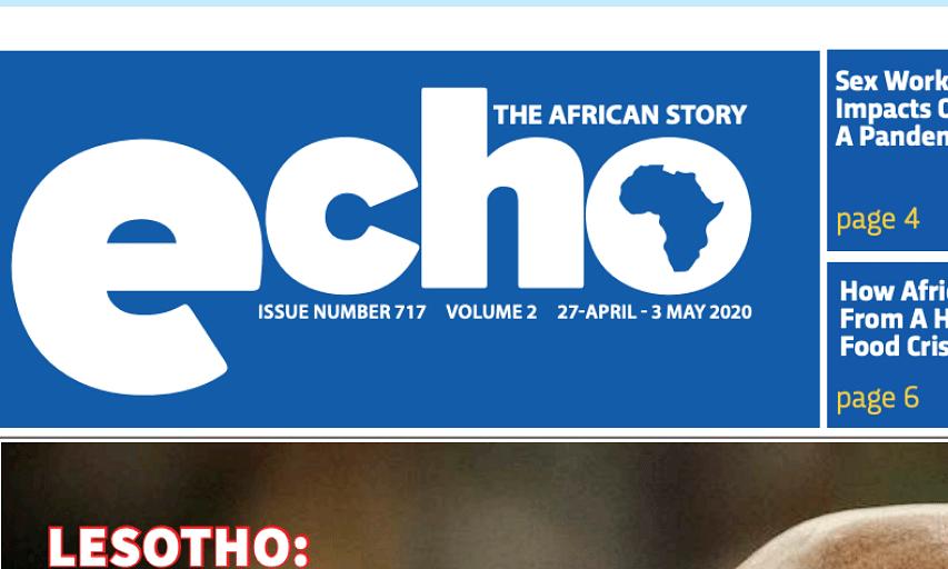 Echo 27 April 2020