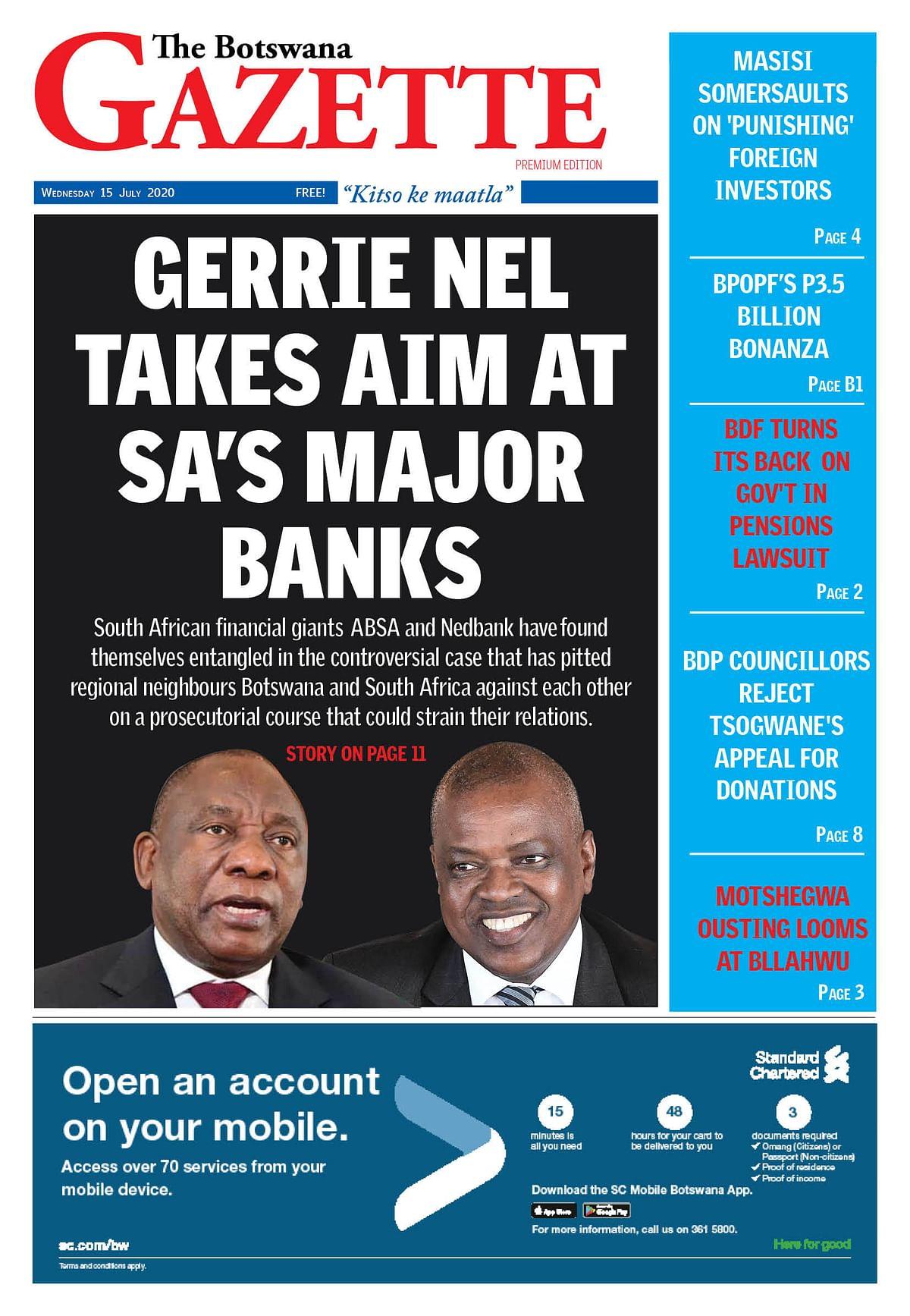 The Botswana Gazette 15 July 2020