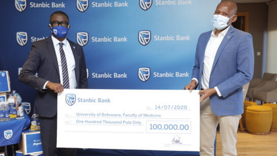Stanbic Bank Botswana Continues to Support Fight Against COVID-19