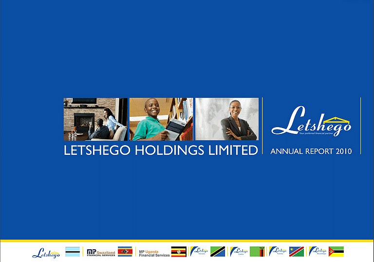 Letshego Group Annual Report 2010