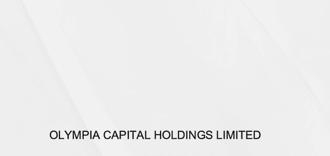 Olympia Capital Annual Report 2016