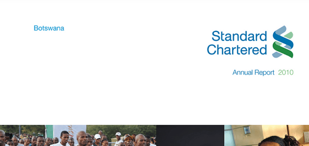 Standard Chartered Bank Botswana Annual Report 2010