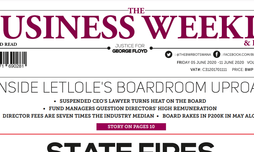 The Business Weekly & Review 5 June 2020