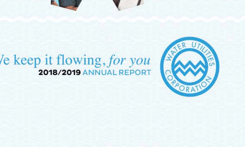 Water Utilities Annual Report 2019
