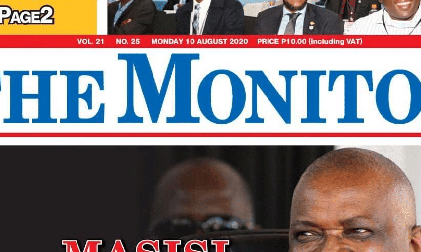 The Monitor 10 August 2020