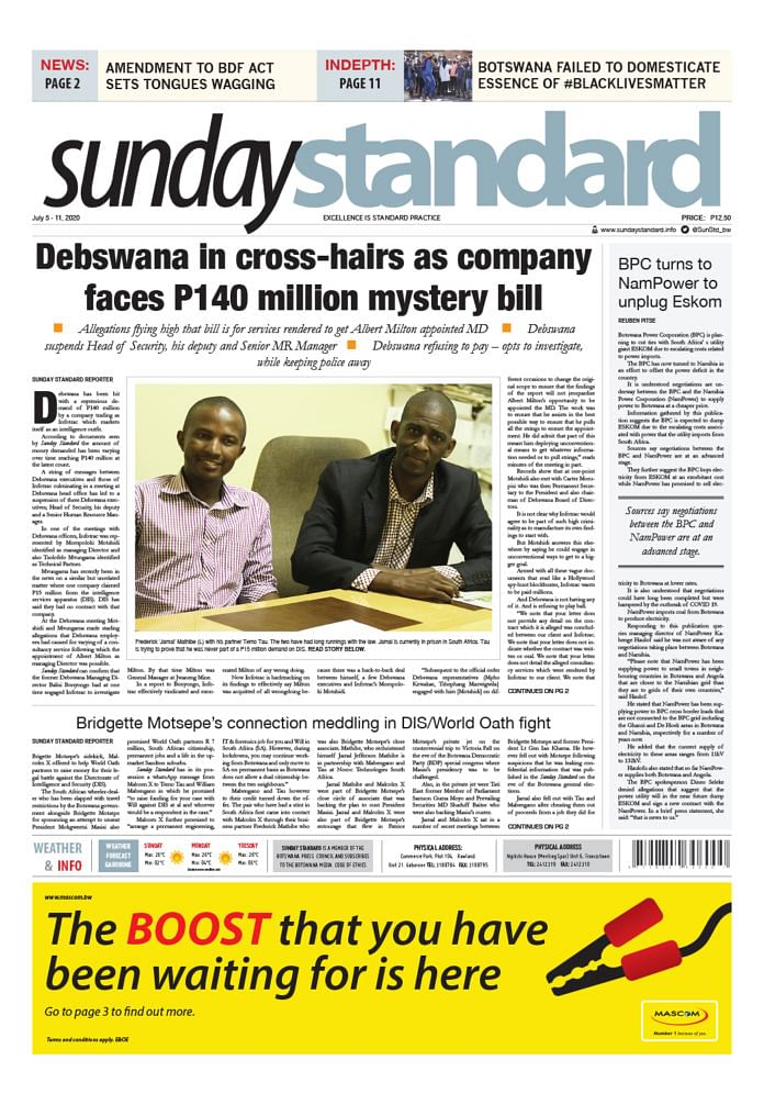 Sunday Standard 5 July 2020