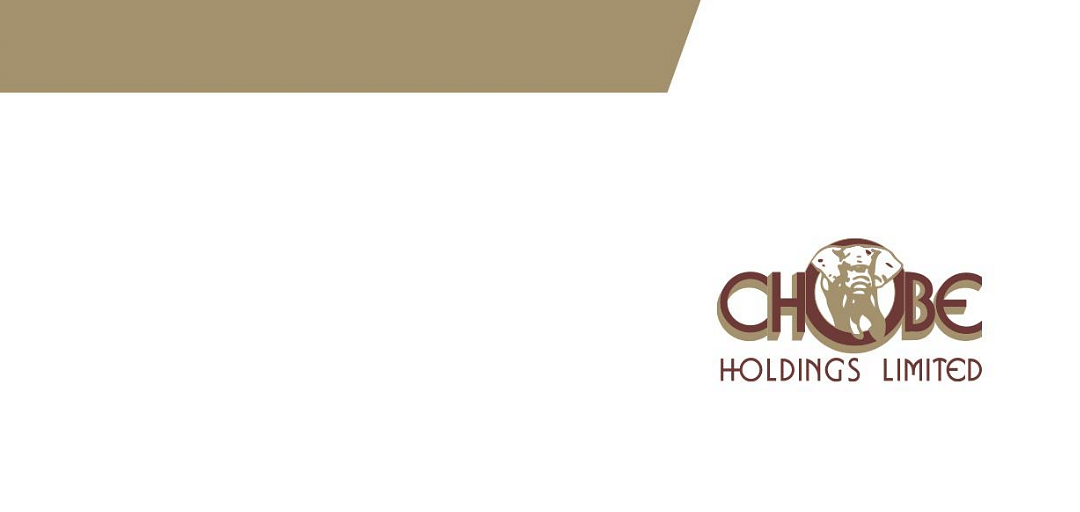 Chobe Holdings Limited Annual Report 2017