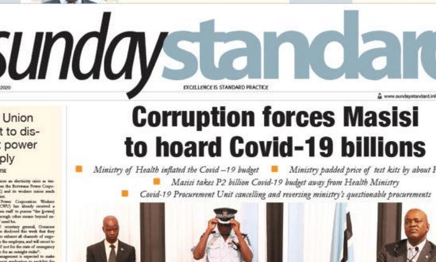 Sunday Standard 19 July 2020