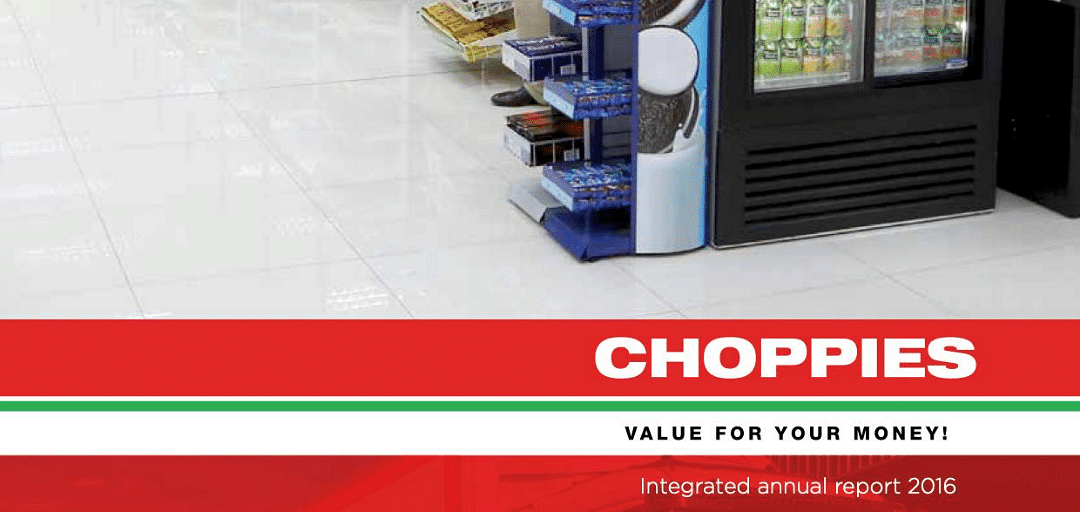 Choppies Enterprises Limited Annual Report 2016