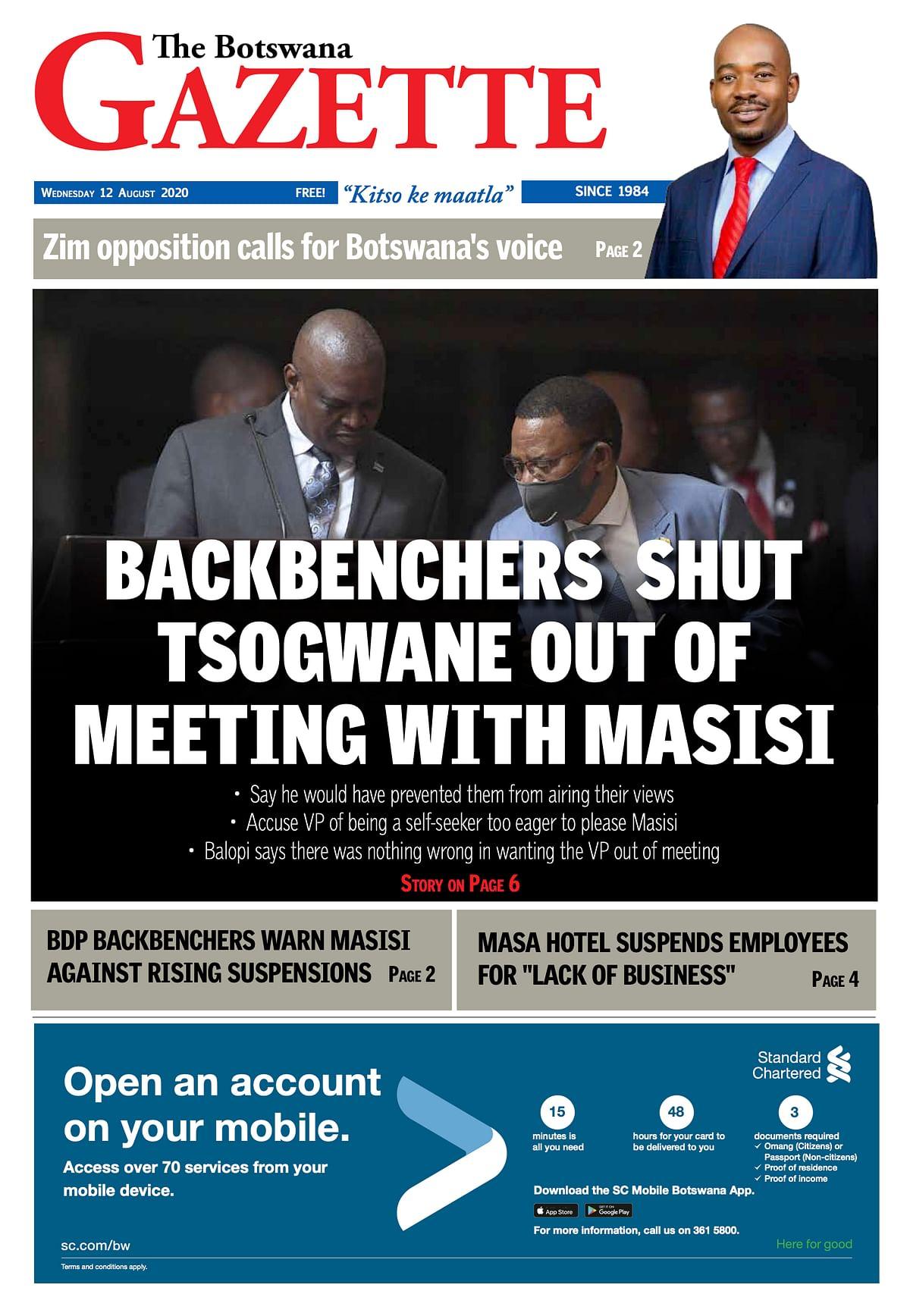 The Botswana Gazette 12 August 2020