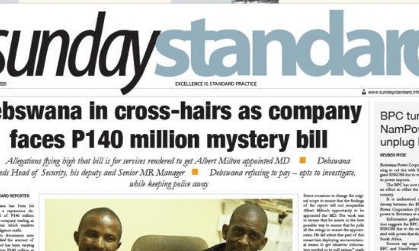 Sunday Standard 5 July 2020
