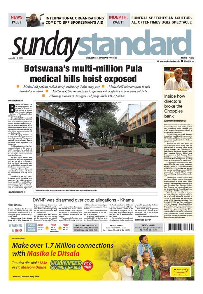 Sunday Standard 2 August 2020