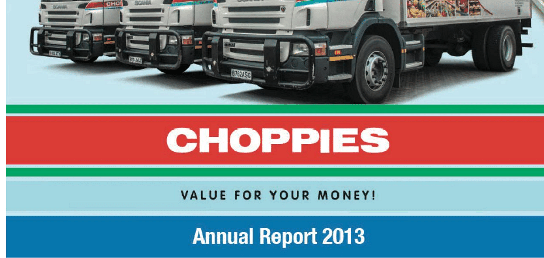 Choppies Enterprises Limited Annual Report 2013