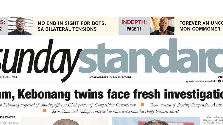 Sunday Standard 30 August 2020