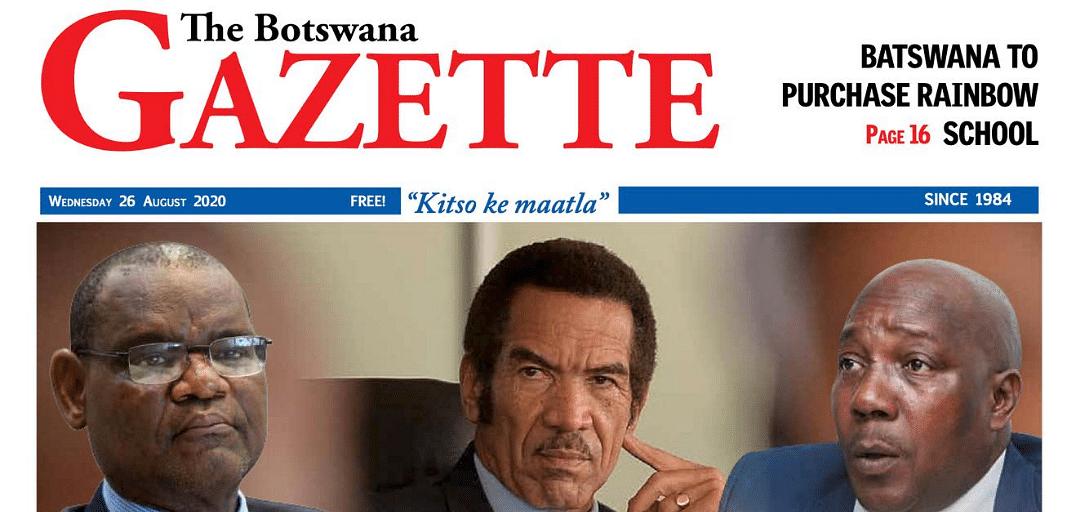 The Botswana Gazette 26 August 2020