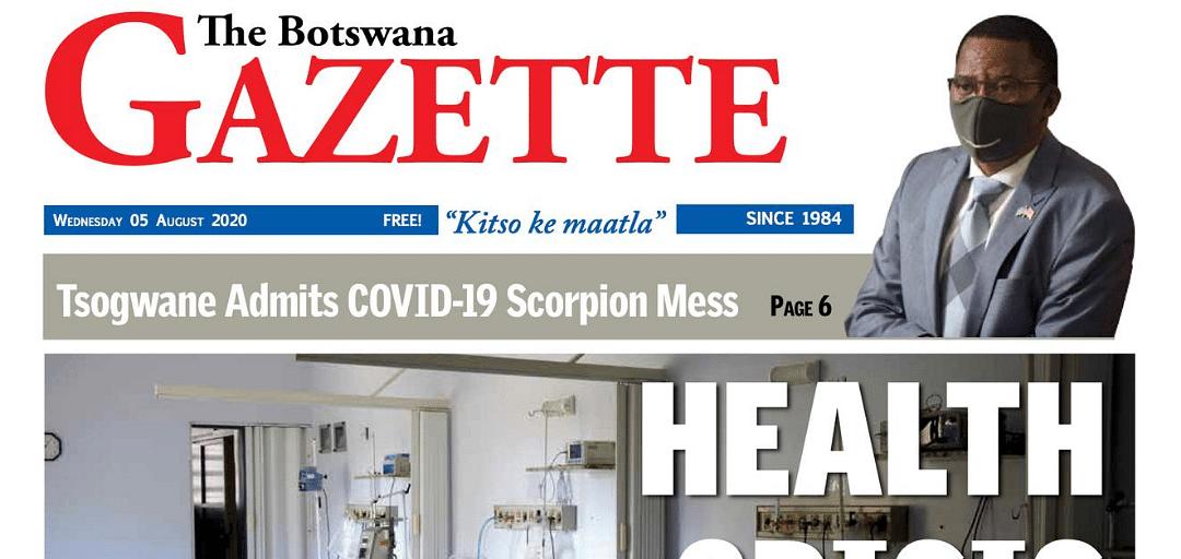 The Botswana Gazette 05 August 2020
