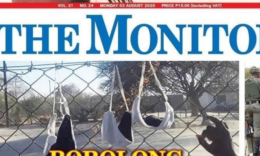 The Monitor 3 August 2020