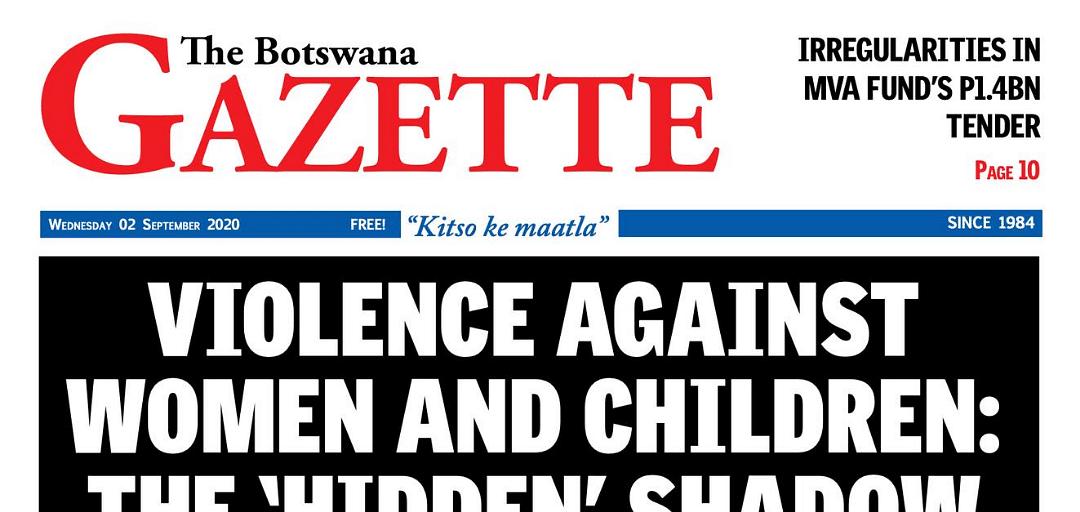 The Botswana Gazette 02 September 2020