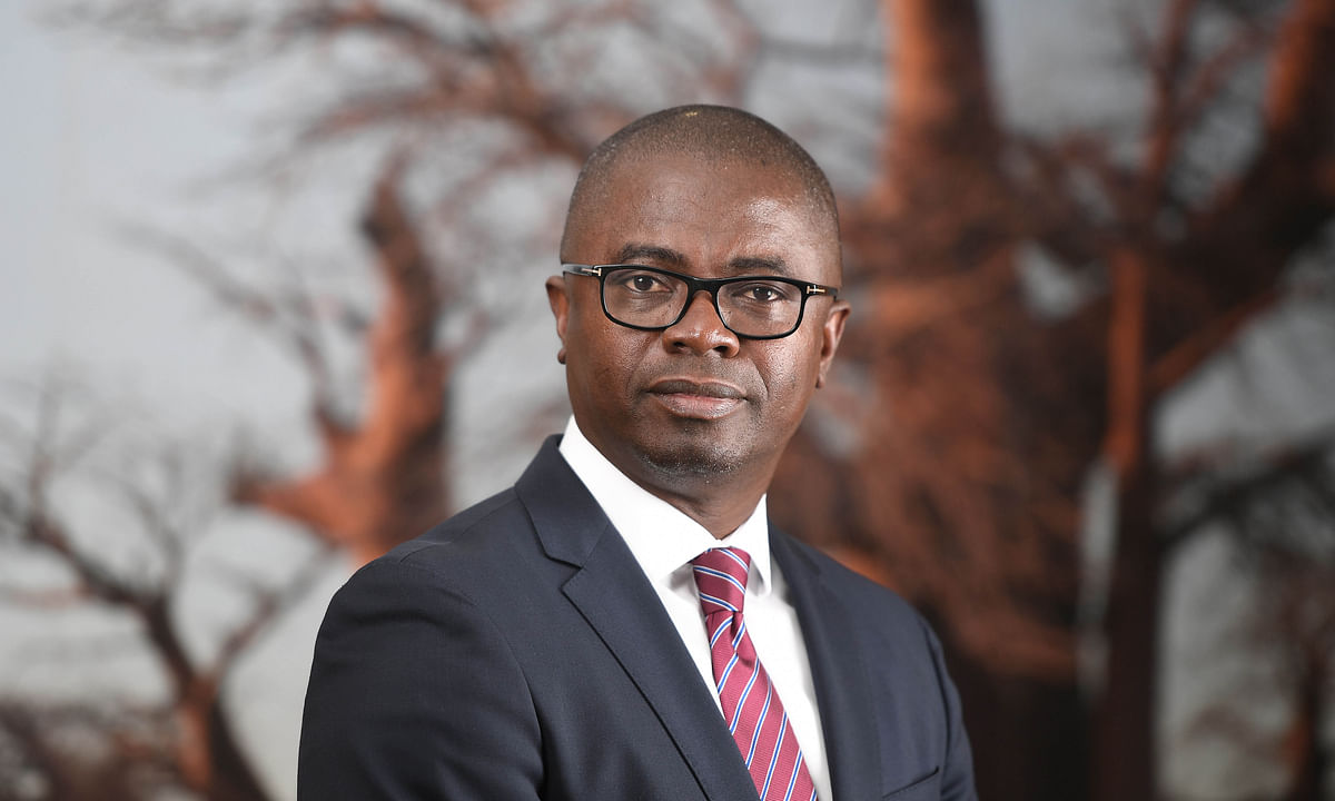 Stanbic Bank Botswana Chief Executive, Mr. Samuel Minta