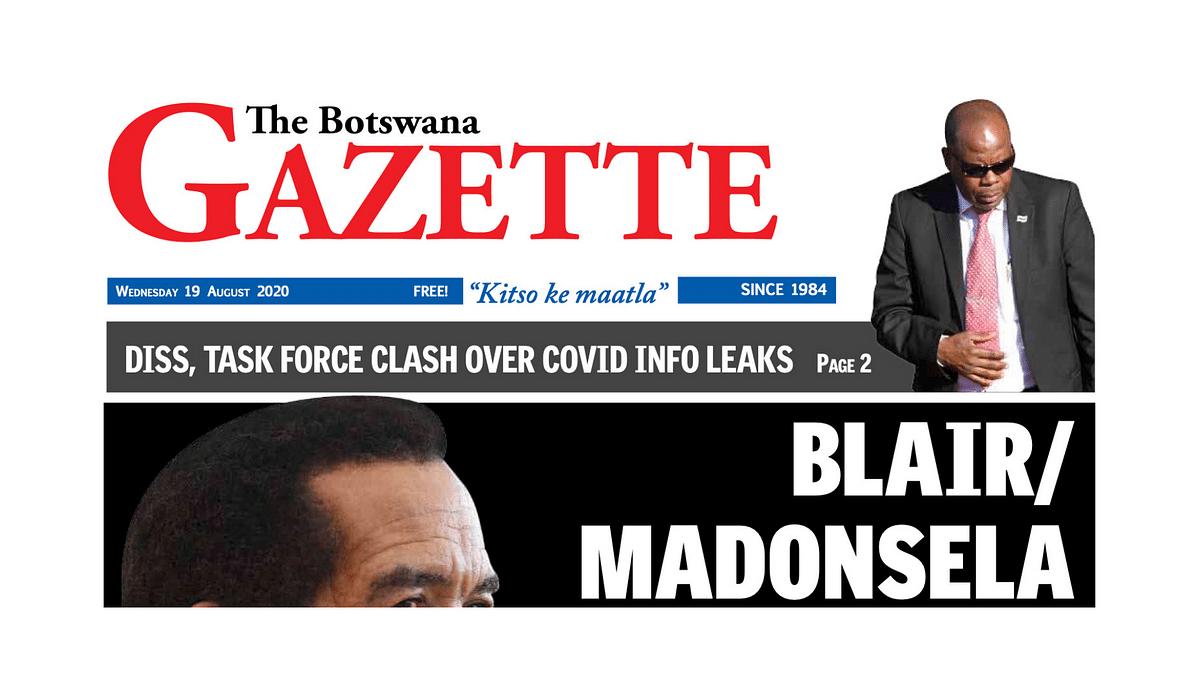 The Botswana Gazette 19 August 2020