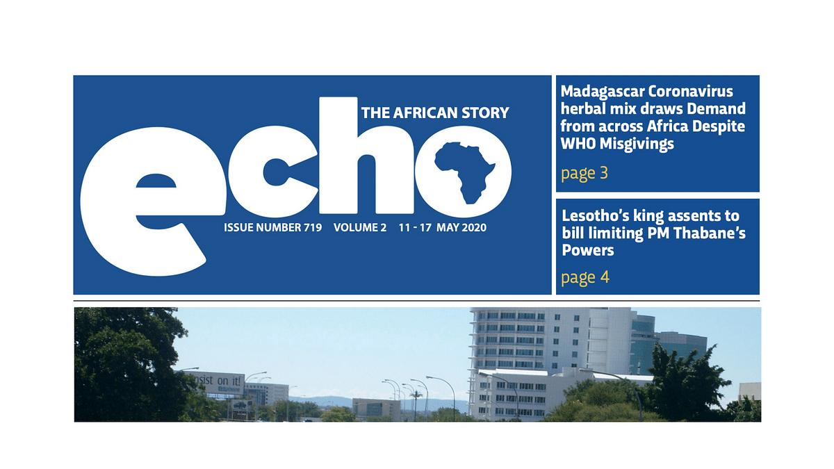 Echo 11 May 2020