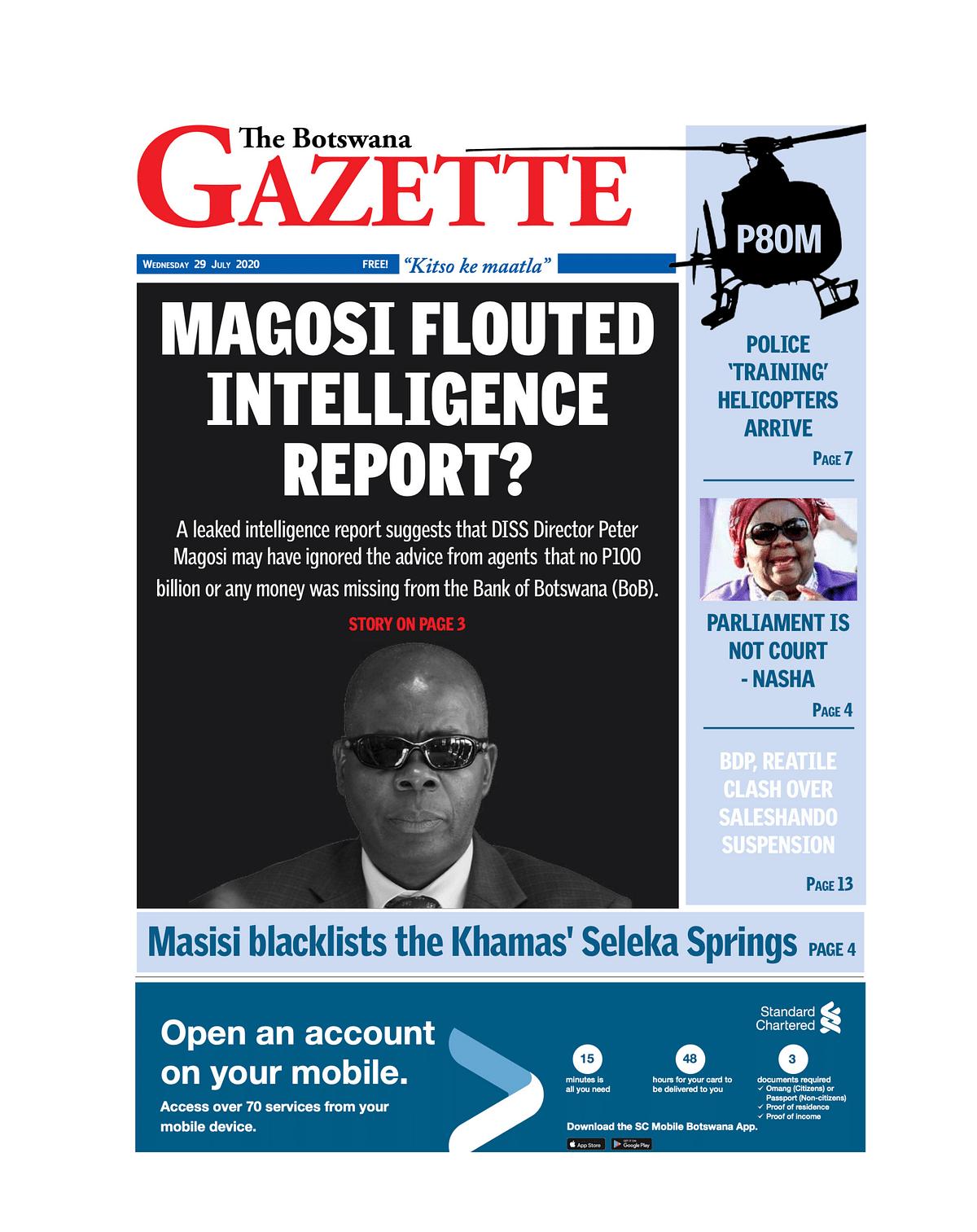 The Botswana Gazette 29 July 2020