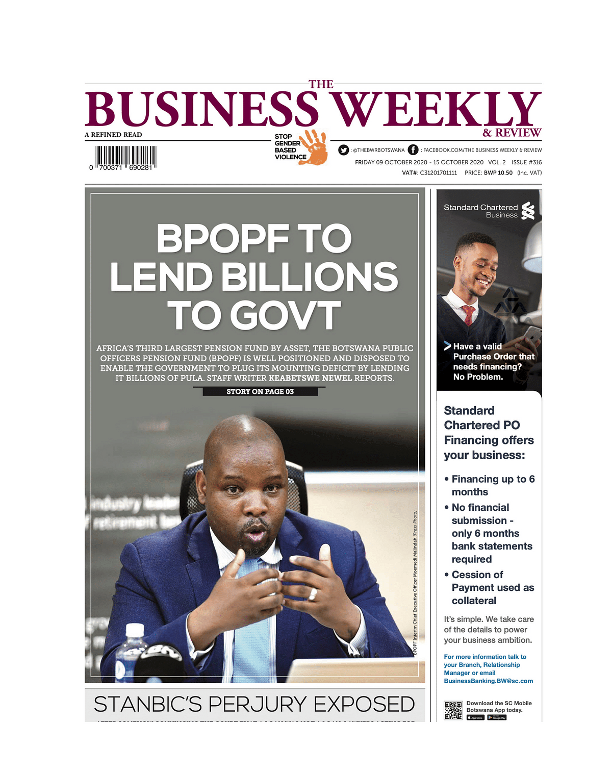 The Business Weekly & Review 09 October 2020