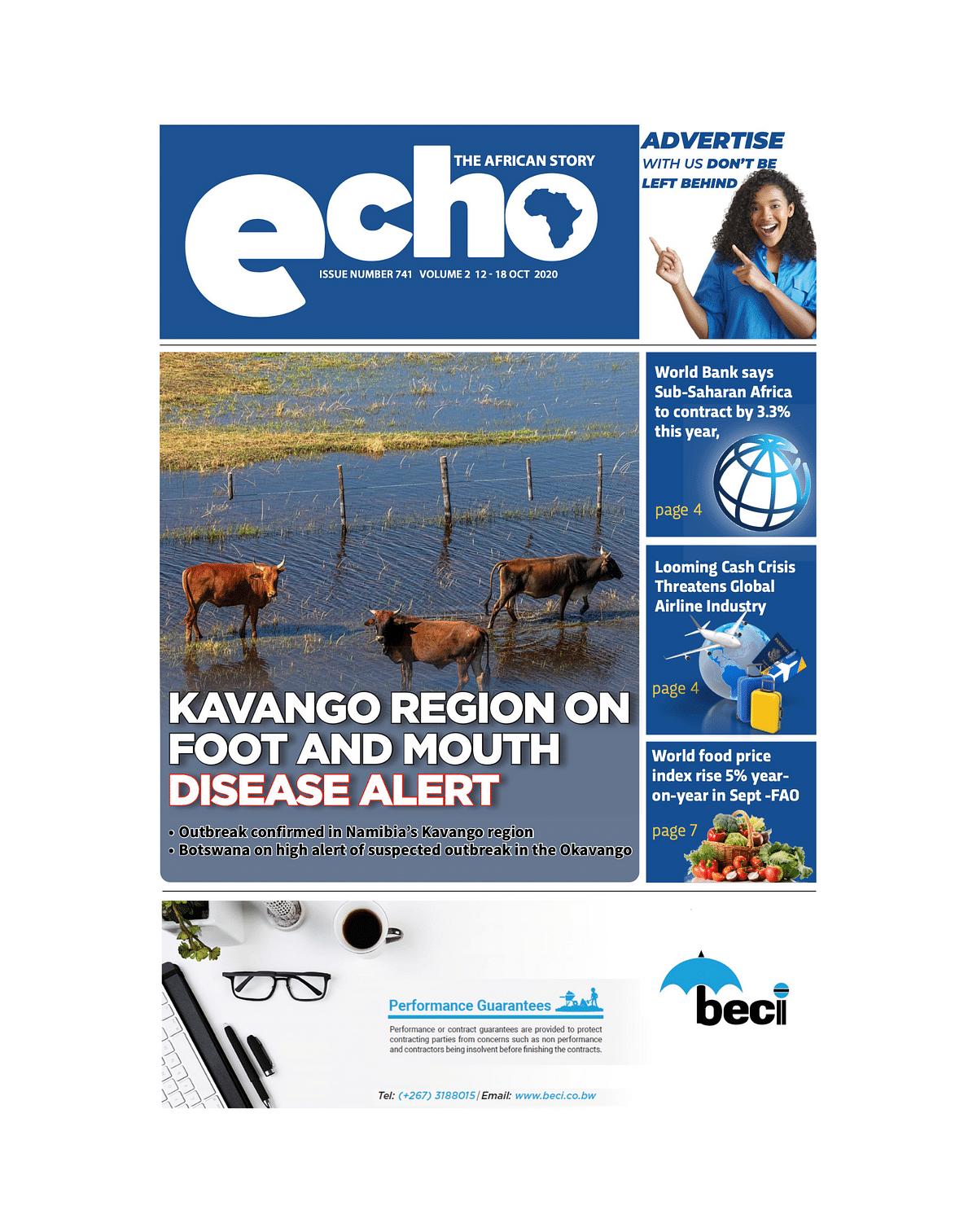 Echo 12 October 2020
