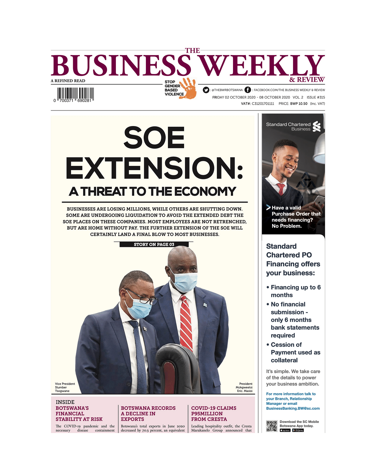 The Business Weekly & Review 2 October 2020