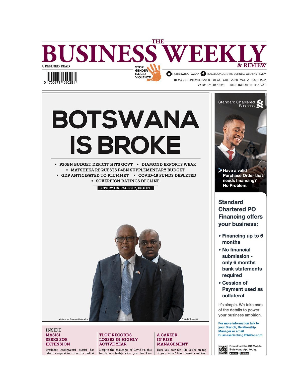 The Business Weekly & Review 25 September 2020