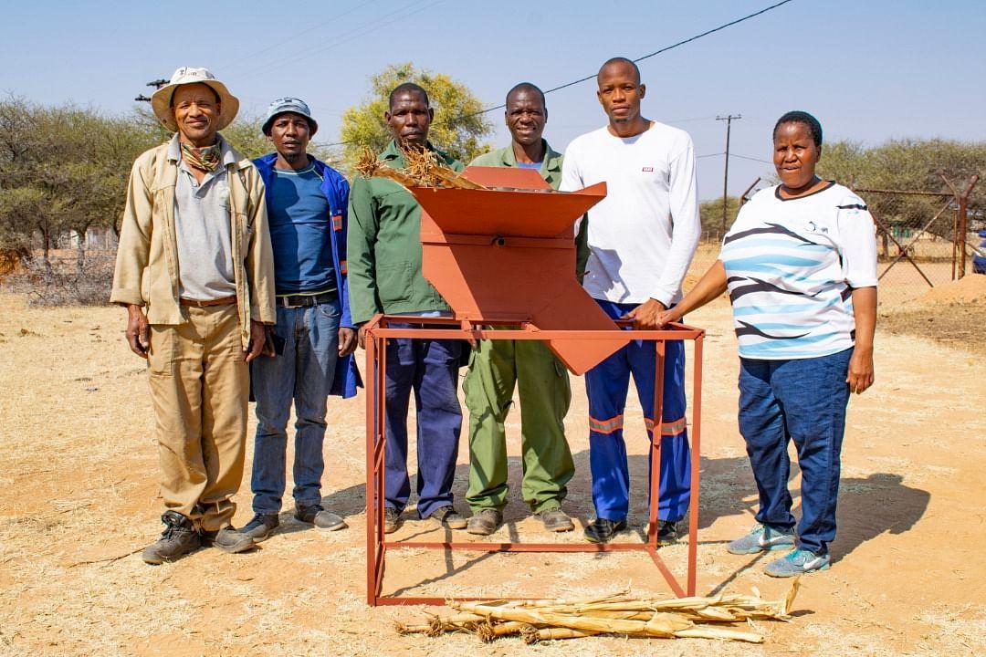 Human-Powered Fodder Chopping Machine (Moiyabana Village)