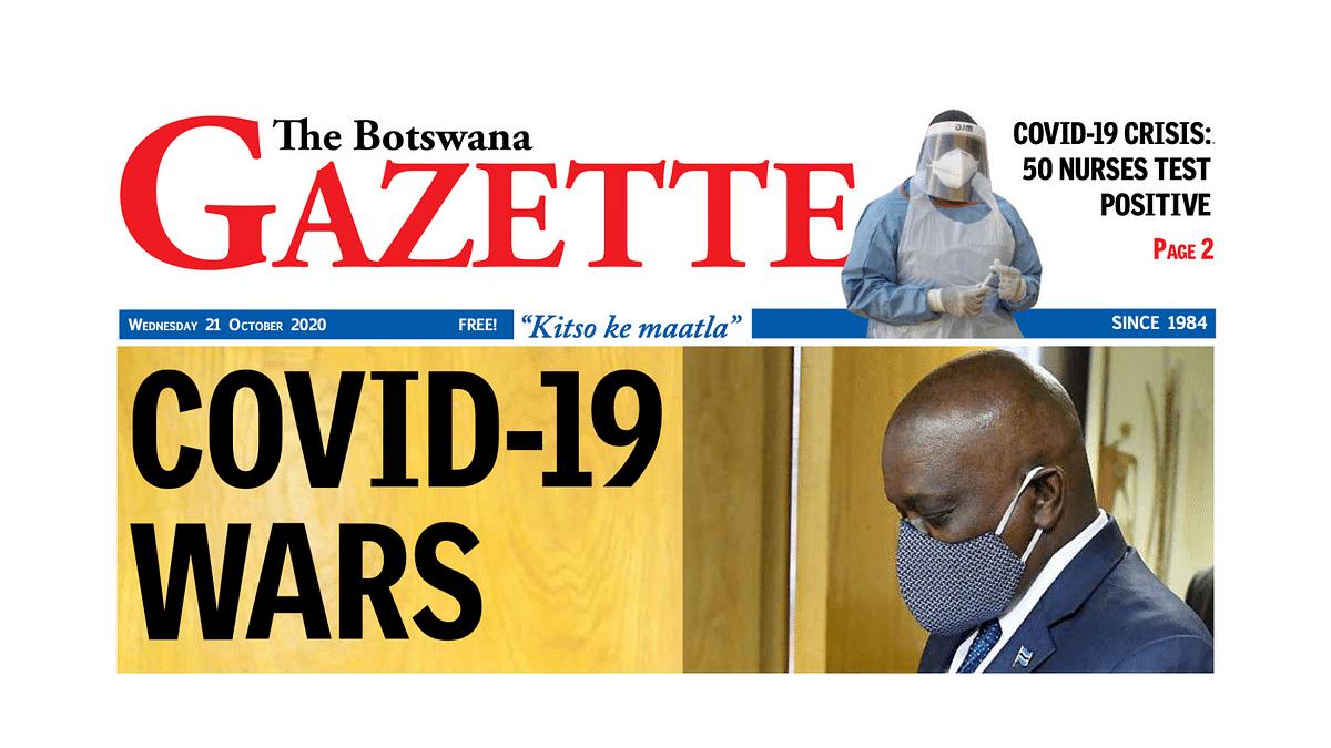 The Botswana Gazette 21 October 2020